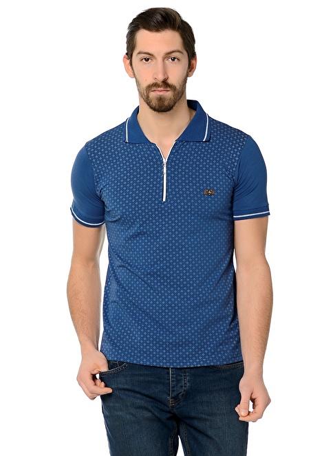 Dewberry Polo Yaka Tişört İndigo